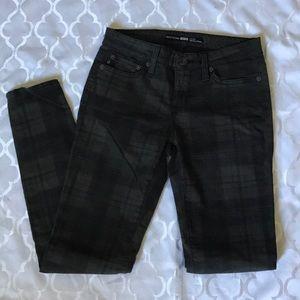 Plaid Big Star Jeans